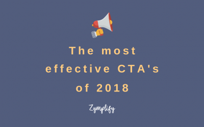 The Most Effective CTA's of 2018
