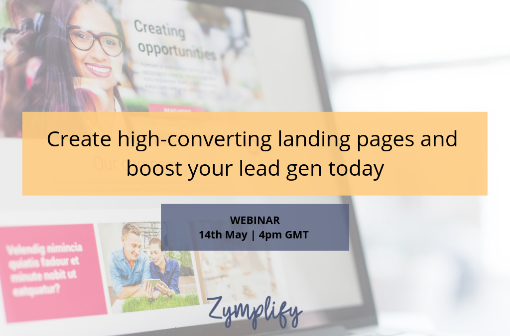 WEBINAR | Create high-converting landing pages