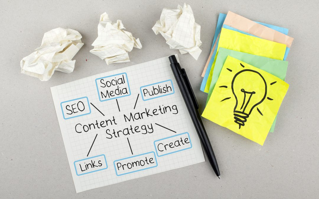 What is a content strategy and how do you create one?