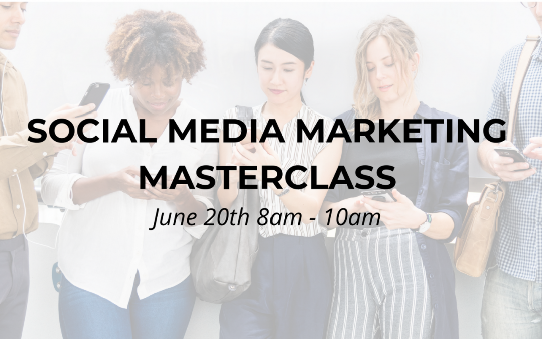 WORKSHOP | Social Media Marketing Masterclass
