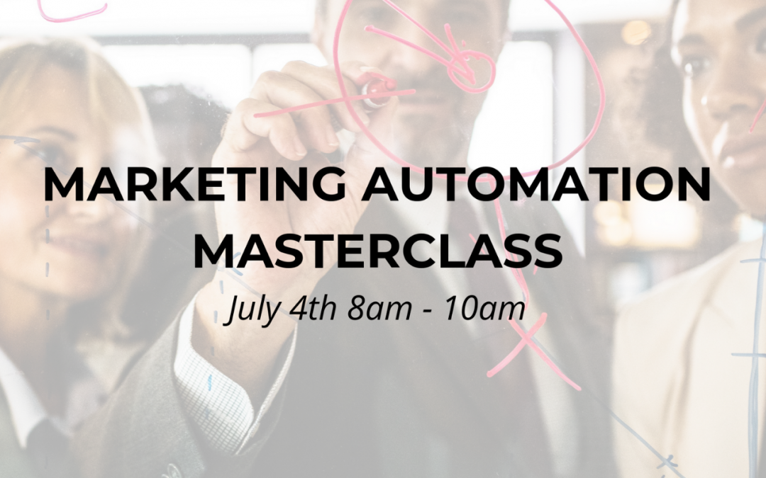 WORKSHOP | Marketing Automation Masterclass